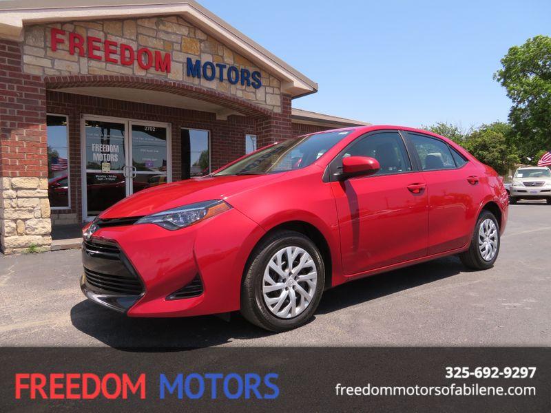 2017 Toyota Corolla LE | Abilene, Texas | Freedom Motors  in Abilene Texas
