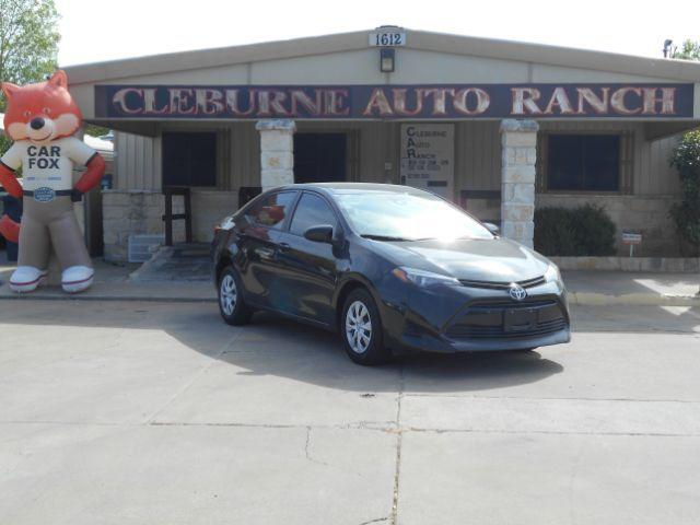 2017 Toyota Corolla L CVT Cleburne, Texas