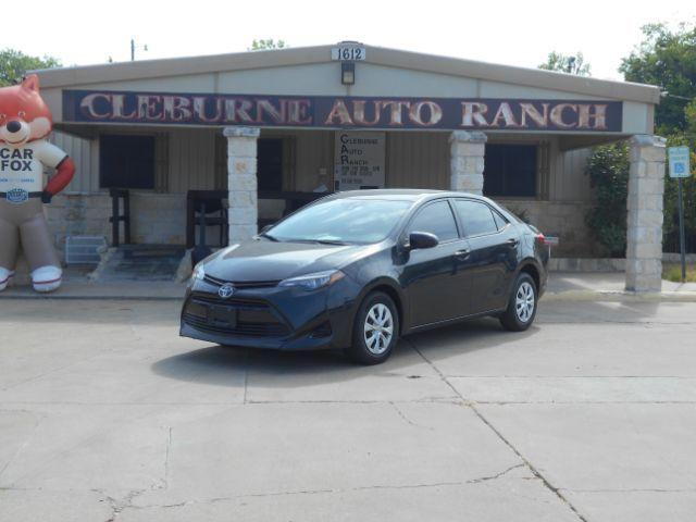 2017 Toyota Corolla L CVT Cleburne, Texas 1