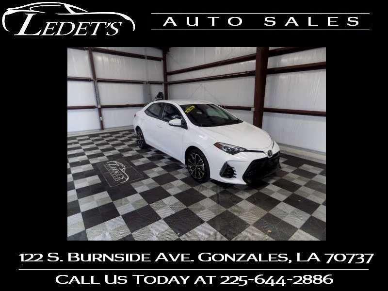 2017 Toyota Corolla SE - Ledet's Auto Sales Gonzales_state_zip in Gonzales Louisiana