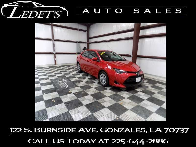 2017 Toyota Corolla LE - Ledet's Auto Sales Gonzales_state_zip in Gonzales Louisiana