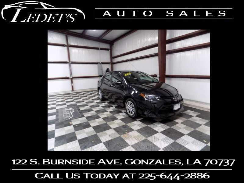 2017 Toyota Corolla LE - Ledet's Auto Sales Gonzales_state_zip in Gonzales Louisiana