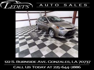 2017 Toyota Corolla LE - Ledet's Auto Sales Gonzales_state_zip in Gonzales
