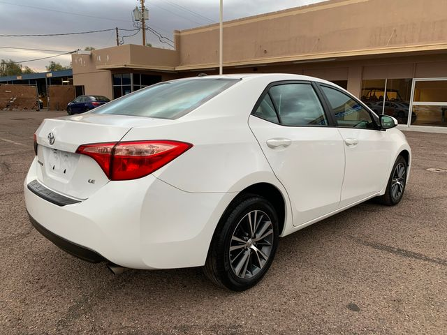 2017 Toyota Corolla LE 5 YEAR/60,000 MILE FACTORY POWERTRAIN WARRANTY Mesa, Arizona 4
