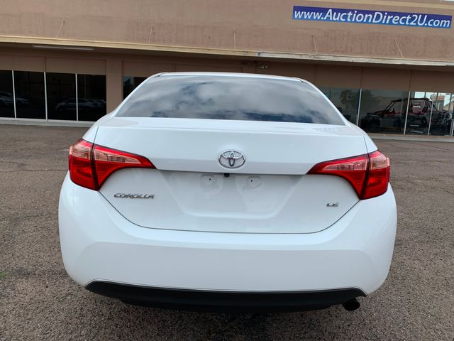 2017 Toyota Corolla LE 5 YEAR/60,000 MILE NATIONAL POWERTRAIN WARRANTY Mesa, Arizona 3