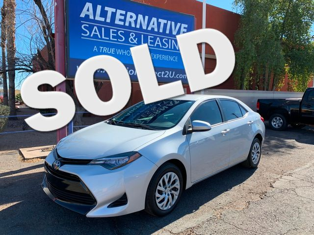 2017 Toyota Corolla LE 5 YEAR/60,000 MILE NATIONAL POWERTRAIN WARRANTY Mesa, Arizona