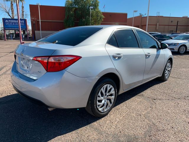 2017 Toyota Corolla LE 5 YEAR/60,000 MILE NATIONAL POWERTRAIN WARRANTY Mesa, Arizona 4