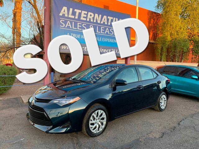 2017 Toyota Corolla LE 5 YEAR/60,000 MILE FACTORY POWERTRAIN WARRANTY Mesa, Arizona