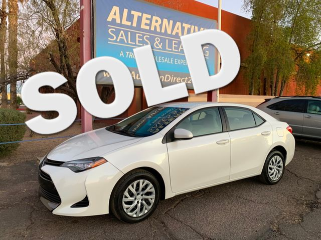 2017 Toyota Corolla LE 5 YEAR/60,000 MILE FACTORY POWERTRAIN WARRANTY Mesa, Arizona