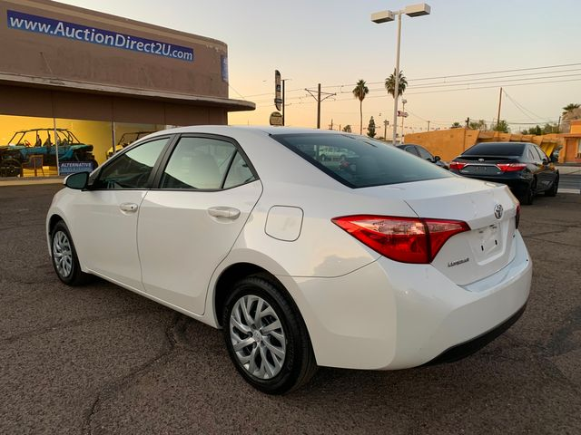 2017 Toyota Corolla LE 5 YEAR/60,000 MILE FACTORY POWERTRAIN WARRANTY Mesa, Arizona 2