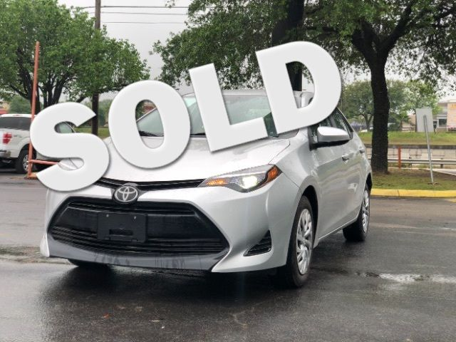 2017 Toyota Corolla LE CVT in San Antonio, TX 78233