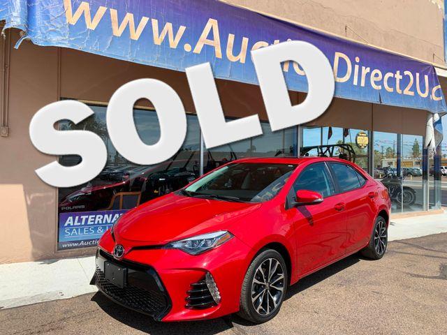 2017 Toyota Corolla SE FULL MANUFACTURER WARRANTY Mesa, Arizona