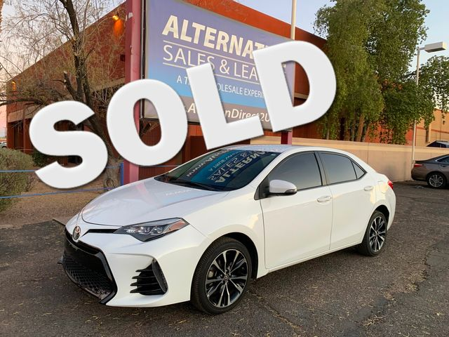 2017 Toyota Corolla SE 3 MONTH/3,000 MILE NATIONAL POWERTRAIN WARRANTY Mesa, Arizona