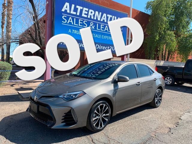 2017 Toyota Corolla SE 5 YEAR/60,000 MILE NATIONAL POWERTRAIN WARRANTY Mesa, Arizona