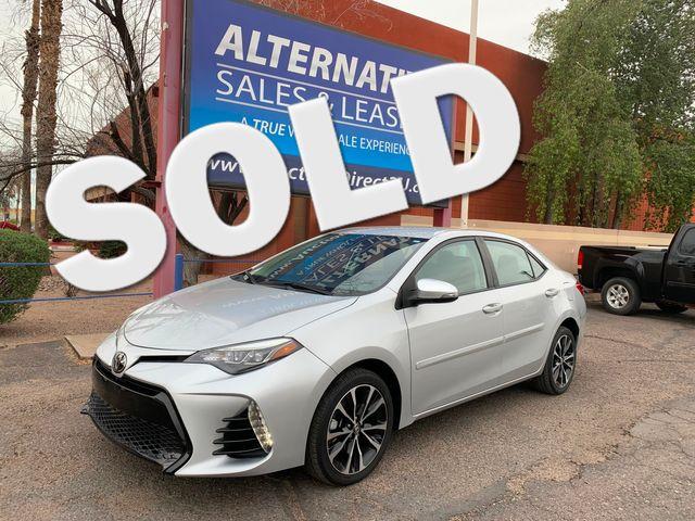 2017 Toyota Corolla SE 5 YEAR/60,000 MILE NATIONAL POWERTRAIN WARRANTY Mesa, Arizona