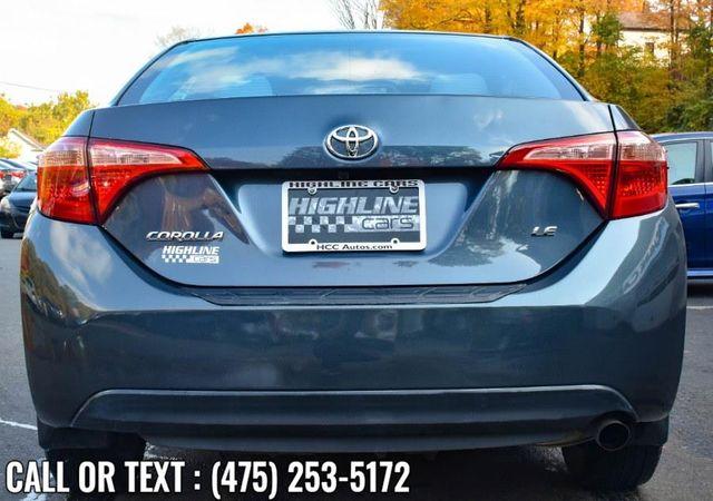 2017 Toyota Corolla LE Waterbury, Connecticut 4