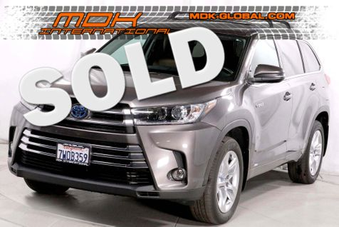 2017 Toyota Highlander Hybrid Limited - AWD - Navigation in Los Angeles