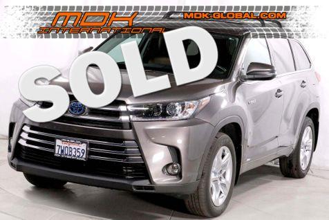 2017 Toyota Highlander Hybrid Limited - AWD - Navigation in Los Angeles