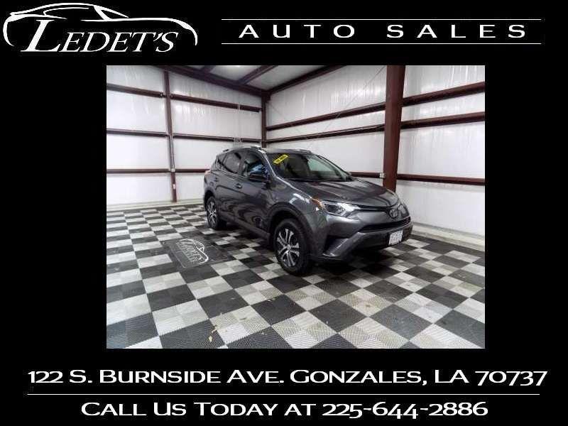 2017 Toyota RAV4 LE - Ledet's Auto Sales Gonzales_state_zip in Gonzales Louisiana