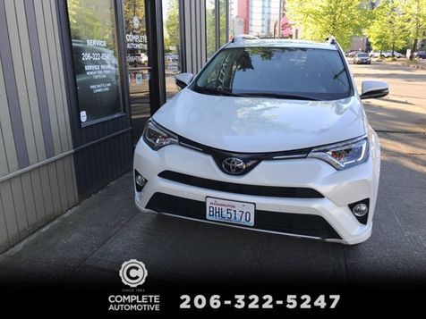 2017 Toyota RAV4 Platinum Edition 3,700 Miles Local 1 Owner  All Options Like New Save $1,000's MUST SELL in Seattle