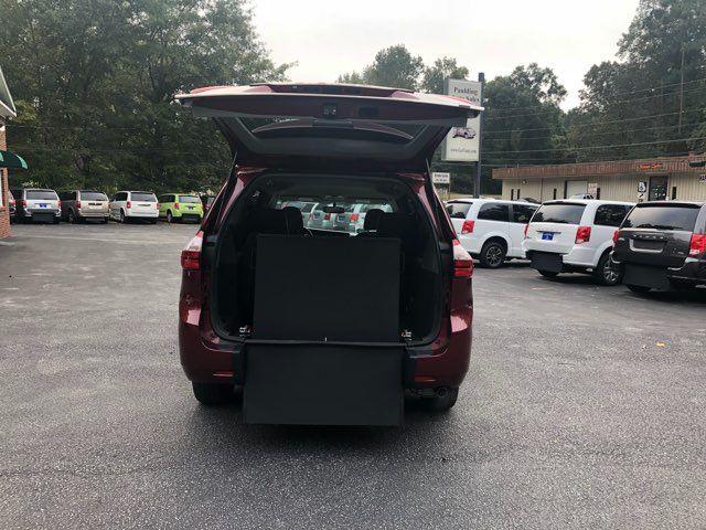 2017 Toyota Sienna LE handicap wheelchair van rear entry.. Dallas, Georgia 3