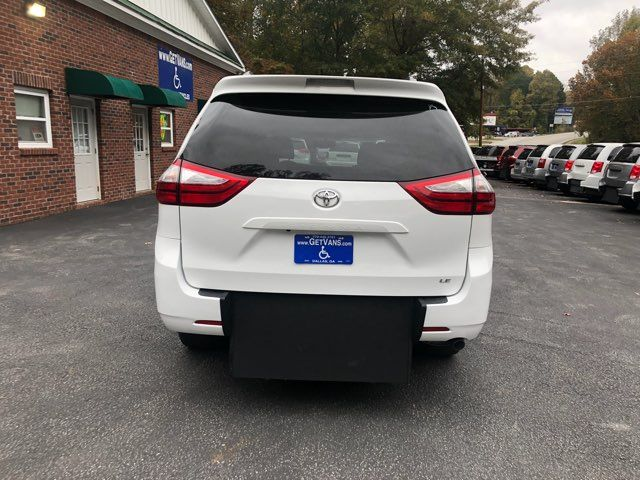 2017 Toyota Sienna LE handicap wheelchair van rear entry.. Dallas, Georgia 4