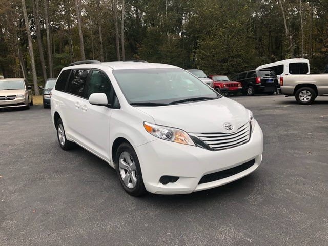 2017 Toyota Sienna LE handicap wheelchair van rear entry.. Dallas, Georgia 16