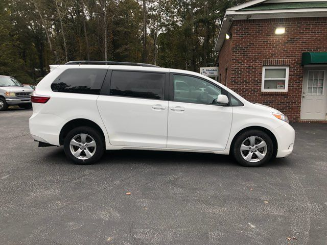 2017 Toyota Sienna LE handicap wheelchair van rear entry.. Dallas, Georgia 17