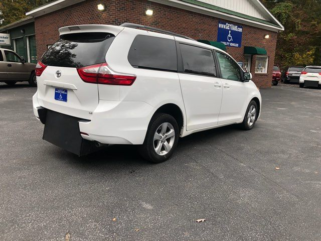 2017 Toyota Sienna LE handicap wheelchair van rear entry.. Dallas, Georgia 18