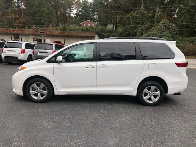 2017 Toyota Sienna LE handicap wheelchair van rear entry.. Dallas, Georgia 6
