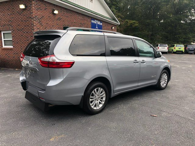 2017 Toyota Sienna XLE handicap wheelchair van Dallas, Georgia 17