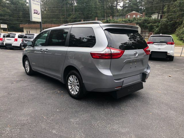 2017 Toyota Sienna XLE handicap wheelchair van Dallas, Georgia 3