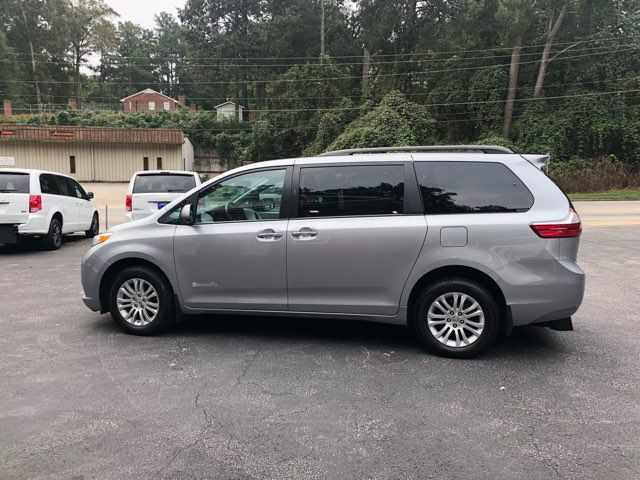 2017 Toyota Sienna XLE handicap wheelchair van Dallas, Georgia 4