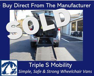 2017 Toyota Sienna Le Wheelchair Van Handicap Ramp Van DEPOSIT Pinellas Park, Florida
