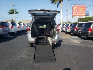 2017 Toyota Sienna Le Wheelchair Van Handicap Ramp Van Pinellas Park, Florida 15