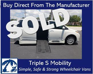 2017 Toyota Sienna Limited Premium Wheelchair Van Handicap Ramp Van DEPOSIT Pinellas Park, Florida