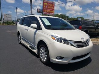 2017 Toyota Sienna Limited Premium Wheelchair Van Handicap Ramp Van DEPOSIT Pinellas Park, Florida 8