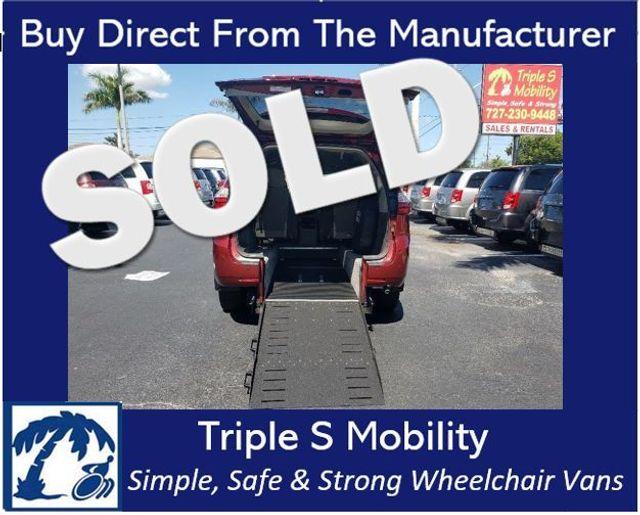 2017 Toyota Sienna Xle Wheelchair Van Handicap Ramp Van DEPOSIT