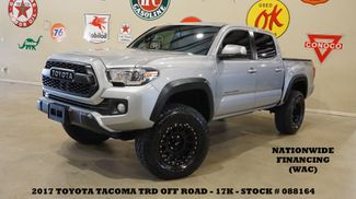 2017 Toyota Tacoma TRD Off Road 4X4 LIFTED,ROOF,NAV,HTD CLOTH,17K in Carrollton, TX 75006