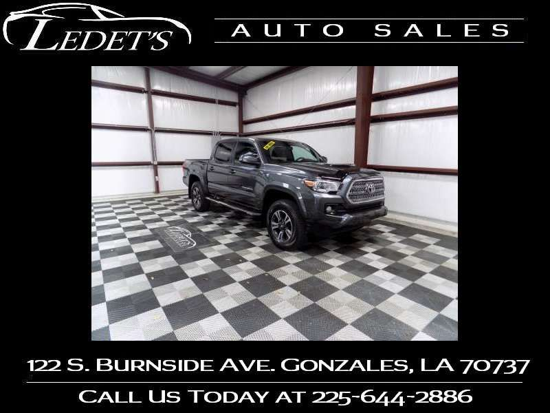 2017 Toyota Tacoma TRD Sport - Ledet's Auto Sales Gonzales_state_zip in Gonzales Louisiana