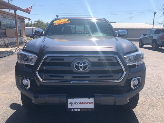 2017 Toyota Tacoma Limited in Marble Falls, TX 78654