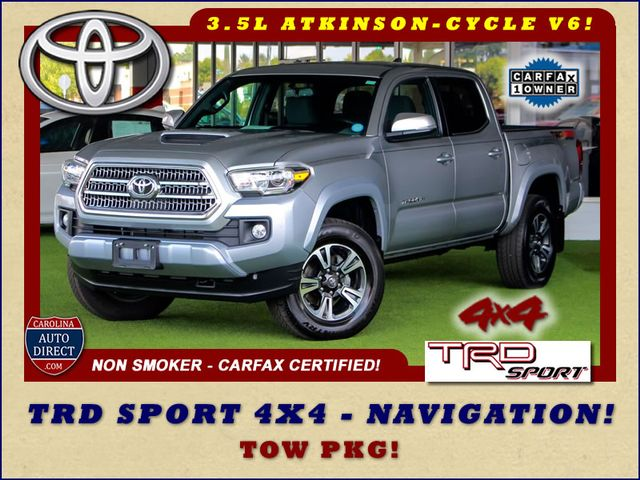 2017 Toyota Tacoma TRD Sport Double Cab 4x4 - NAVIGATION - TOW PKG! Mooresville , NC 0