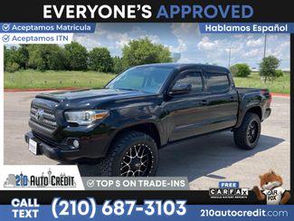 2017 Toyota TACOMA TRD SPOR DOUBLE CAB in San Antonio, TX 78237