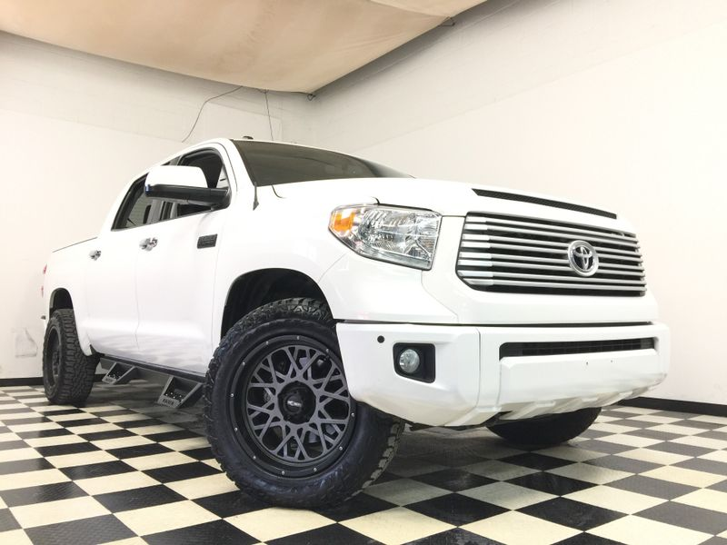 2017 Toyota Tundra *2017 Toyota Tundra*Platinum CrewMax 5.7L 4WD* | The Auto Cave in Addison