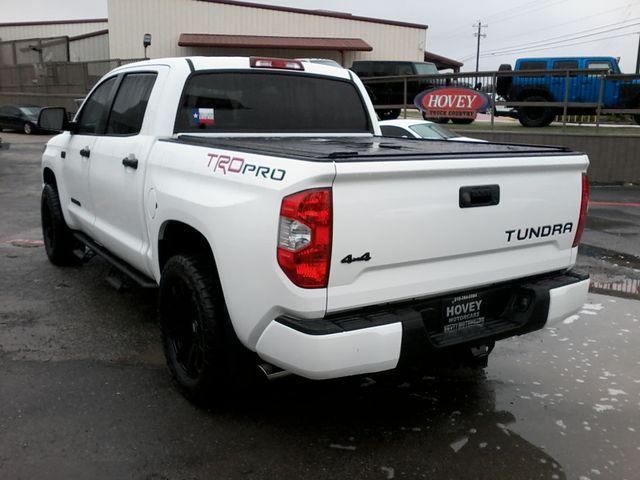 2017 Toyota Tundra TRD PRO  SR5 TRD PRO CREWMAX 4X4 Boerne, Texas 5