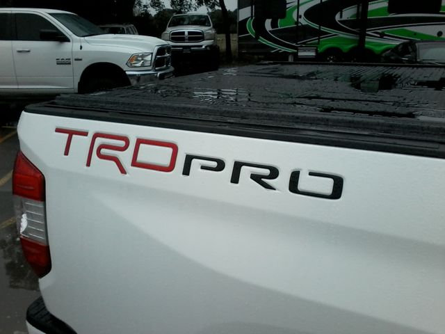 2017 Toyota Tundra TRD PRO  SR5 TRD PRO CREWMAX 4X4 Boerne, Texas 9