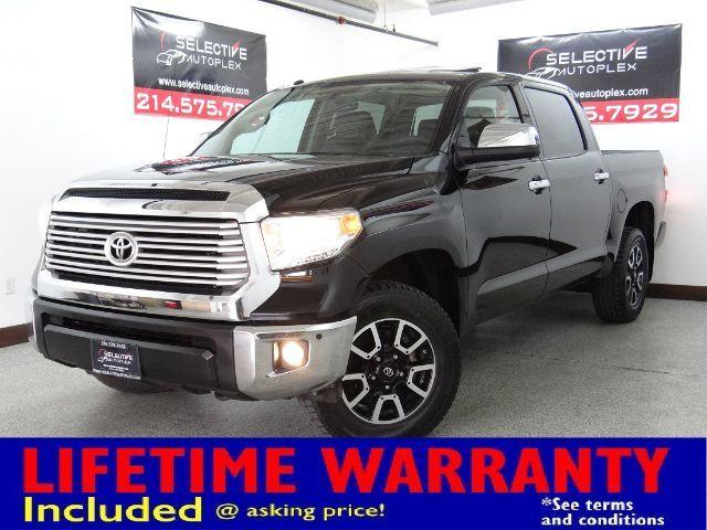 2017 Toyota Tundra Limited, NAV, HEATED FRONT SEATS, SUNROOF