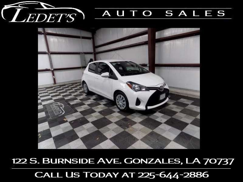 2017 Toyota Yaris L - Ledet's Auto Sales Gonzales_state_zip in Gonzales Louisiana