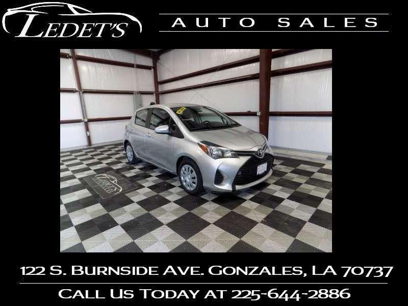 2017 Toyota Yaris L - Ledet's Auto Sales Gonzales_state_zip in Gonzales Louisiana