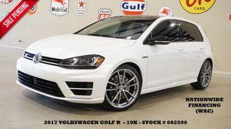 2017 Volkswagen Golf R AWD AUTO,NAV,BACK-UP CAM,HTD LTH,FENDER SYS,19K in Carrollton TX, 75006